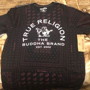 True Religion Buddha short sleeve
